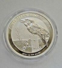 2016 P Silver Kookaburra   1 oz    Perth Mint