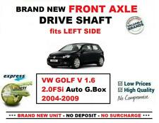 Para VW Golf V 1.6 2.0FSi Auto Gearbox 2004-2009 Nuevo Eje Delantero Izquierdo