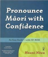 Pronounce Maori with Confidence, Brand New, Free shipping