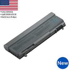 9 Cell 7800mAh Battery For Dell Latitude E6400 E6410 E6500 E6510 PT434 Laptop