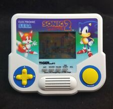 Sonic The Hedgehog 2 Sega Tiger Electronic Handheld LCD Game Works 1988