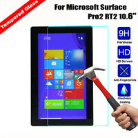 New Tempered Glass Screen Protector for Microsoft Surface Pro 6 2018 12.3 Tablet