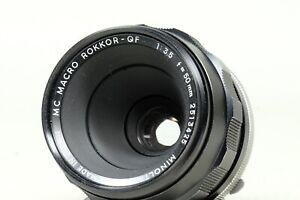 Minolta MC Macro Rokkor-QF 50mm f3.5!!!