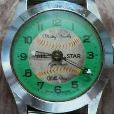 1967 MICKEY MANTLE ROGER MARIS WILLIE MAYS ALL STAR WATCH ~ 1967 ALDENS CATALOG