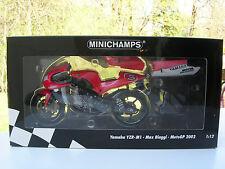 MINICHAMPS 1/12 MOTO GP YAMAHA YZR M1 Max BIAGGI MOTO GP 2002