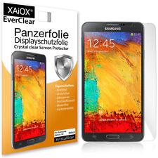 2x EverClear Panzerfolie Display Schutzfolie für Samsung Galaxy Note 3 AntiShock