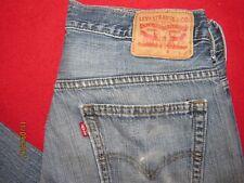 Mens Distressed 569 Levis Jeans 30 x 32...Actual 32 x 30
