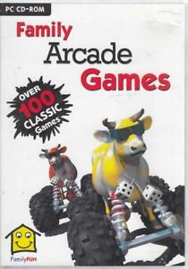 Arcade Games for Windows - Family Fun - Good - CD-ROM & Games.New!