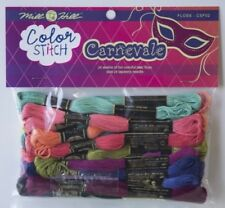 10% Off Mill Hill/DMC Color Stitch Floss for Pre-printed Paper - Carnevale