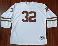e9656a6f Cleveland Browns #32 Jim Brown 1964 NFL Authentic Throwback Jersey Mitchell  Ness