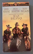 RIO BRAVO John Wayne, Dean Martin, Ricky Nelson, VHS 1995 Movie Video Tape
