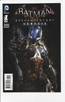 Batman Arkham Knights Genesis #1 Retailer Incentive 1:10 Variant Cover, DC 2015