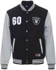 Majestic Athletic Oakland Las Vegas Raiders College Fleece Jacke | NFL NEU OVP |