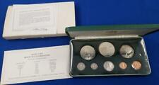 New Listing1973-Trinidad and Tobago 8 Coin Silver Proof Set 1.9247 ozt Asw w/coa/box L6649