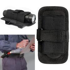 Nylon Holster Holder Case Belt 360° Clip Pouch For LED Flashlight Torch