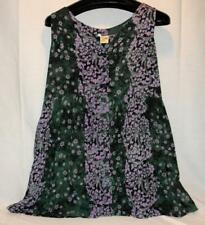 Under The Rainbow Cute Floral Print Sleeveless Dress, One Size Free Shipping!
