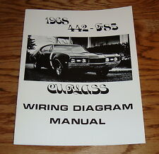 1968 Oldsmobile Cutlass 442 - F85 Wiring Diagram Manual 68