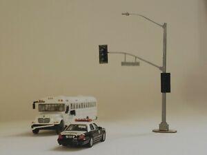 HO Scale 1:87 Model Traffic Light Assembly