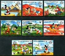 Grenada Grenadines 1988 Disney Stamps Completed Set MNH