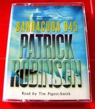 Patrick Robinson Barracuda 945 Arnold Morgan 2-Tape Audio Book Tim Pigott-Smith