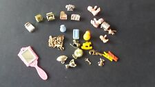 28 Misc. Parts - Kitchen, pantry, Christmas... doll house miniature