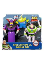 "Toy Story Buzz Lightyear Vs Emperor Zurg & ""The Claw"" Alien Toy Story- 3 Figures"