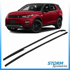 LAND ROVER DISCOVERY SPORT LC L550 15+ OE ROOF BARS - ROOF RAILS - BLACK - PAIR