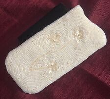 *Antique* One-of-a-kind Hand-Beaded Reading Glasses Case