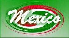 fridge magnets Mexico Swirl Flag Country Aprox 3.5 X 2.5 in. Laminated