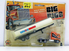 "1981 INTEX RECREATION CORP. HO SCALE R-T-R ""UNION 76"" DIE-CAST METAL BIG RIGS"