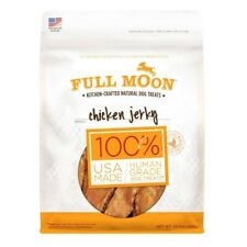 Full Moon Kitchen-Crafted Natural Dog Treats Chicken Jerky 24 oz