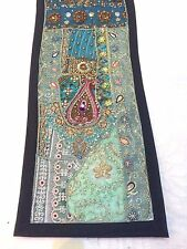 Indian Royal Traditional Tapestry Handmade Patchwork Bed/Table Runner