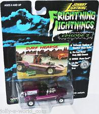 Frightning Lightning-surf Hearse - 1:64 Johnny Lightning
