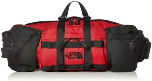 THE NORTH FACE Waist Bag Mountain Biker Lumber Pack TNF Red Japan With Tracking