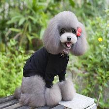 Comfortable Pet Dog Cotton Blend Hoodie Winter Sweater Clothes Costume Black XL
