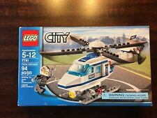 LEGO City 7741 Police Helicopter Set New In Factory Sealed Box