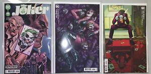 JOKER #2 (2021) COVER SET A + B + C MARCH BERMEJO STELFREEZE TYNION DC COMICS
