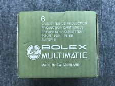 Kassetten für den BOLEX Super 8 Projektor Multimatic - NEU! OVP! Nie benutzt!