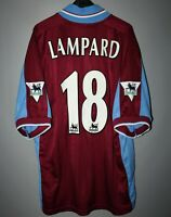 WEST HAM UNITED 1997 1998 HOME FOOTBALL SHIRT JERSEY PONY #18 LAMPARD