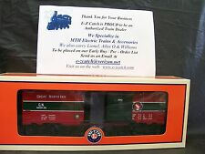Lionel Trains 6464-25 Great Northern Christmas Box Car O Gauge Postwar Style NEW