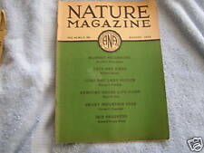 Nature Magazine August  1934 Art Deco