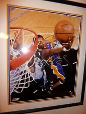 KOBE BRYANT Signed Autographed Framed 16x20 Photo Full PSA/DNA LOA & GAI