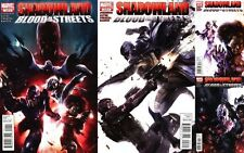 Shadowland: Blood on the Streets #1-4 CONJUNTO COMPLETO COMIC Libros - MARVEL