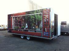 Mobile Food Van 6m X 2.4m NEW CUSTOM MADE