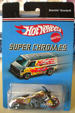 Hotwheels SUPER CHROMES SCORCHIN' SCOOTER  NEW