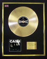 JOHNNY CASH HUNDRED HIGHWAYS CD GOLD DISC LP FREE P+P!