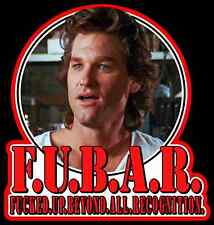 """80's Action Classic Tango & Cash """"F.U.B.A.R."""" custom tee Any Size Any Color"""