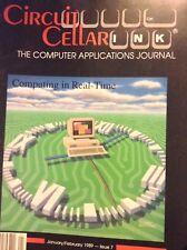 Circuit Cellar Ink Magazine Computing Real Time Jan/Feb 1989 121817nonrh