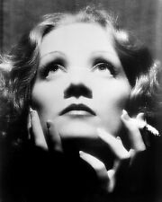 MARLENE DIETRICH SHANGHAI EXPRESS 11X14 PHOTO DRAMATIC CLOSE UP LOOKING UP