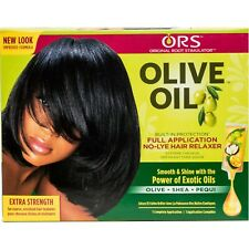 ORS, OLIVE OIL, FULL APPLICATION NO-LYE HAIR RELAXER, EXTRA STRENGTH